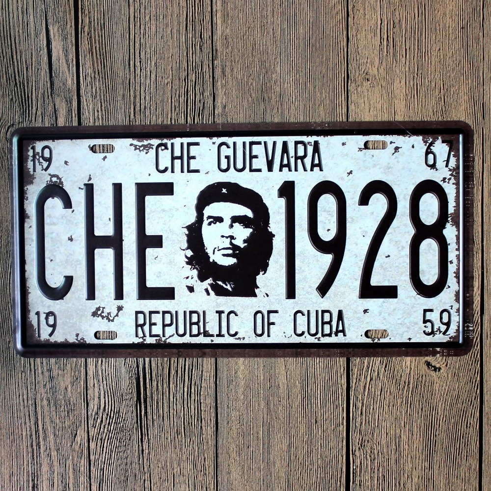 LOSICOE Vintage license plate CHE 1982 Metal signs home decor Office Restaurant Bar Metal Painting art 15x30 CM