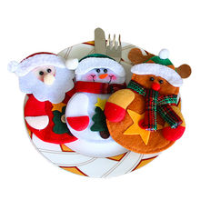 Christmas Style Cutlery Holders 3 pcs/lot