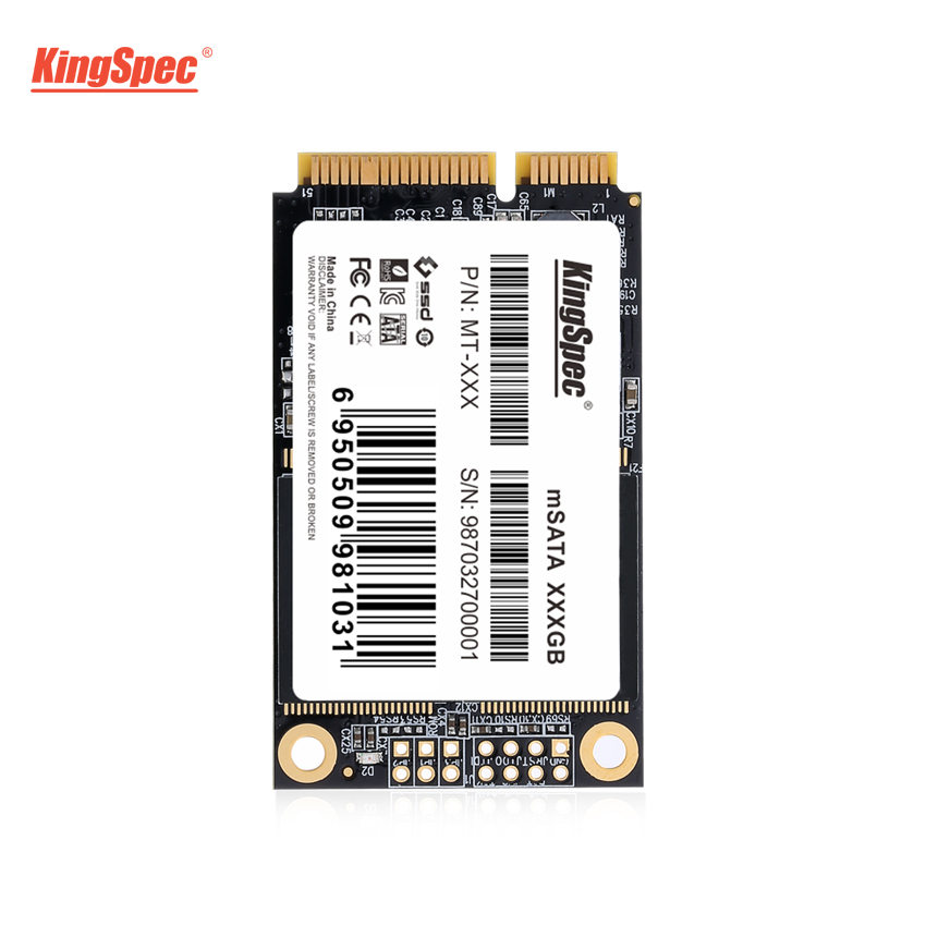 1TB KingSpec SSD mSATA Large Capacity Internal Solid State Drive Flash MLC MT-1TB For Tablet Ultrabook Laptop Notebook PC Server