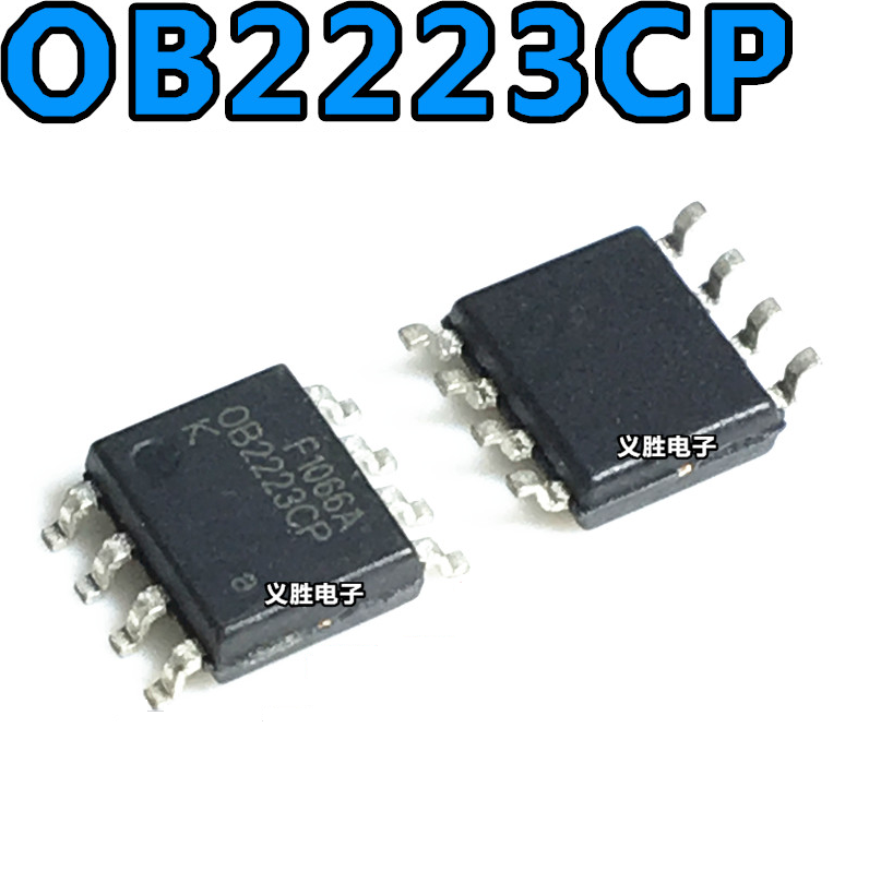 OB2223 <font><b>OB2223CP</b></font> Power Chip LCD Power Management Chip IC SMD SOP-8 10PCS/LOT image