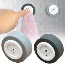 3 шт., вешалка для кухни без сверления, современное крепление на стену, крючки для окна, ванной комнаты, многоцелевой, для дома, прочно клейкая, Круглый держатель для полотенец