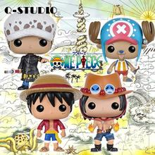 Funko Pop Anime One Piece Collectible Model Toy Monkey D. Luffy NAMI FRANKY Movie Action Figure PVC Boy Toys цена и фото