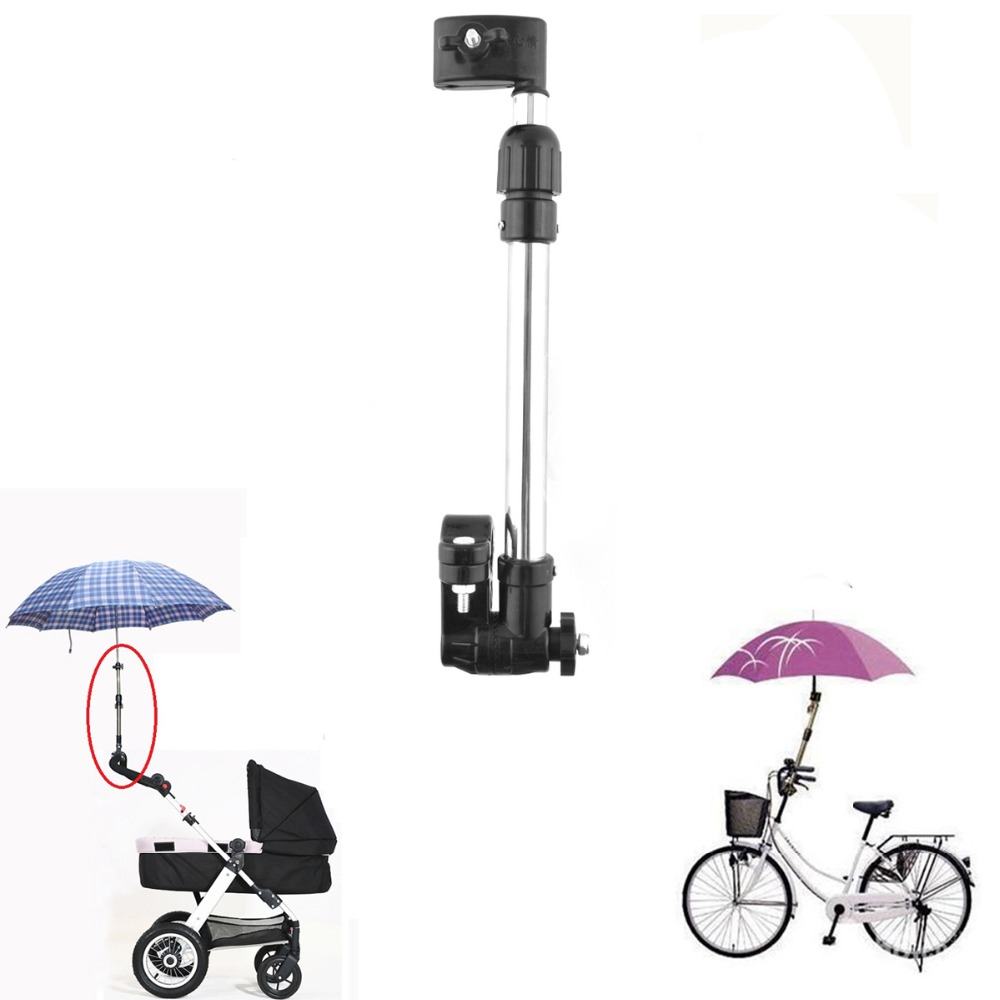 Universal Baby Stroller Accessories Bike And Pram Handle Connector Adapter Umbrella Extended Pole Fit Yoyo And More