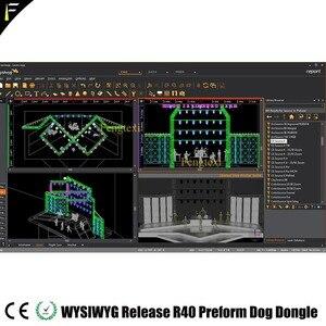 Image 4 - WYSIWYG R40 동글 영어 출시 40 R40 개 프리폼 암호화 된 개 조명 무대 극장 성능 장소 디자인 소프트웨어