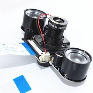 Image 5 - האחרון פטל Pi 3 דגם B + IR לחתוך מצלמה 5MP ראיית לילה יום ולילה מתג מצלמה מודול עבור rasberry Pi 2 דגם B