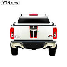 car modified decals 1 Piece  tail gate  graphic Vinyl stickers customize for isuzu dmax 2015-2019 2 piece 2015 page 1