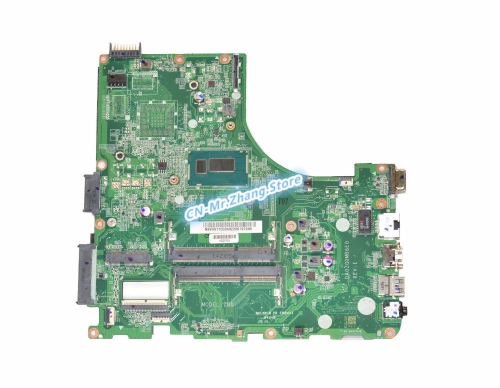 SHELI FOR font b Acer b font Aspire V3 472P Laptop Motherboard W I3 4030U CPU