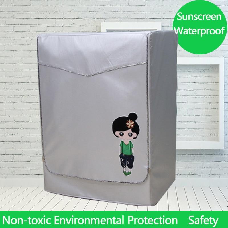 UV-izturīgs karikatūra veļas mazgājamā mašīna vāks - Mājsaimniecības preces