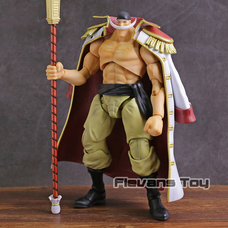 Megahouse VAH Variable Action Heroes One Piece White Beard Edward Newgate PVC Action Figure Collectible Model Toy new anime one piece kaido four emperors edward newgate white beard big mom 24cm pvc action figure model doll toys in boxed
