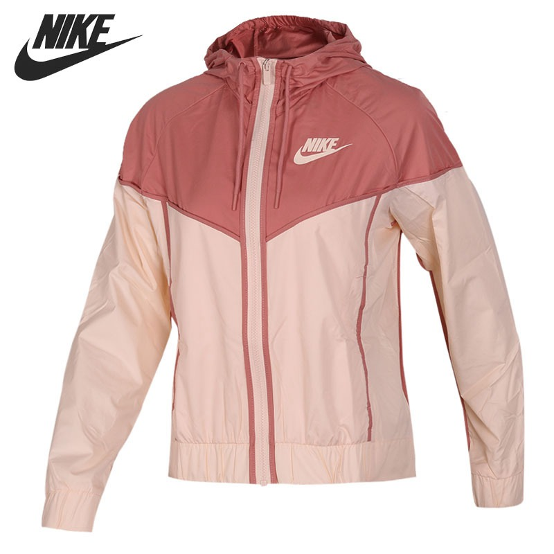 Original New Arrival 2018 NIKE Women's Jacket Hooded Sportswear original nike women s jacket hoodie sportswear
