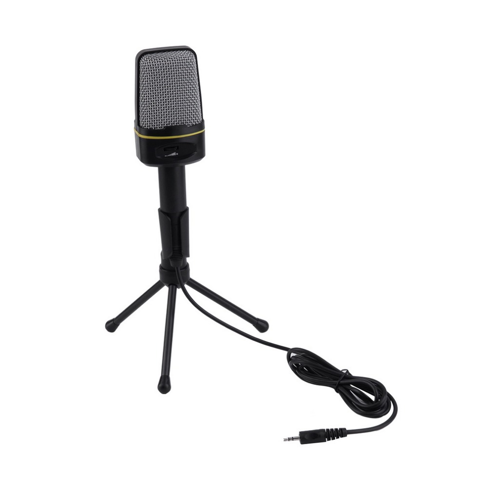 3 5mm Wired Studio Capacitive Plug and Play Microphone SF 920 For Computer Wholeslae
