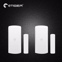 2pcs Chuango DWC102 Wireless Home Security Two-way Door/Window Sensor For Home Security Alarm System 315MHz