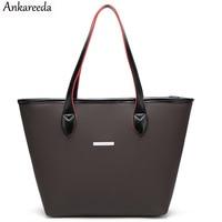 Ankareeda Brand Designer Beach Bag Handbags High Quality Top Handle Bags Women Bag Ladies Leather Shoulder