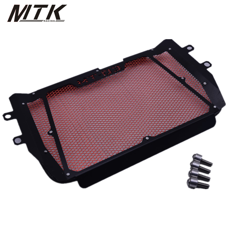 MTKRACING Motorcycle For YAMAHA MT-03 2015-2017 stainless steel Radiator Grille Guard Cover Protector new motorcycle stainless steel radiator grille guard protection for yamaha tmax530 2012 2016