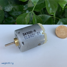 365-1885 DC Micro Motor DC 6.0V-24V 6000-25800 rpm Small Carbon Brush Motor for Hair Dryer Hot Air Gun Shaft Dia 2.3mm zytd 38srz r dc 24v 5000 rpm speed 7w 5mm dia shaft wired connector motor