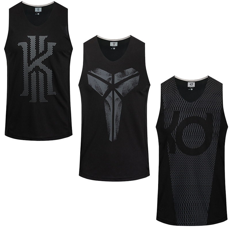 T-Shirts Basketball-Jerseys Asian-Size Sports 6XL KD Unisex Breathable KI KB Outdoor