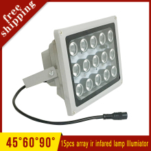 Outdoor Waterproof Surveillance 15pcs 42mil Array leds Infrared Light Night Vision IR illuminator Lamp Free Shipping