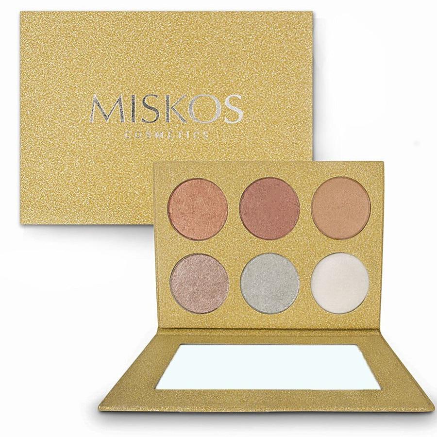 Miskos Highlighter Bronzer Cremă moale Concealer Shimmer Iluminare - Machiaj