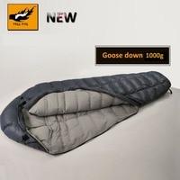 Новый спальный мешок на гусином пуху, зимний спальный мешок на гусином пуху, спальный мешок для кемпинга, зимний сверхлегкий спальный мешок