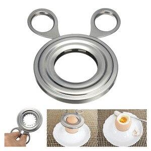 105mm Topper Snipper Eggshell Shell Slicer Boiled Cooked Egg Opener Cutter scissor Clipper Kitchen Household Tool(China)
