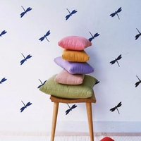 P45 DIY Wall Stickers Home Decor For Kids Room Pattern Dragonfly Set Of 30 Wall Sticker