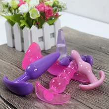 Vibrator Anal plug Sex Toys for woman&male Butt Plugs sex Products for Anal Masturbation Massager smooth&soft Silicone Anal sex