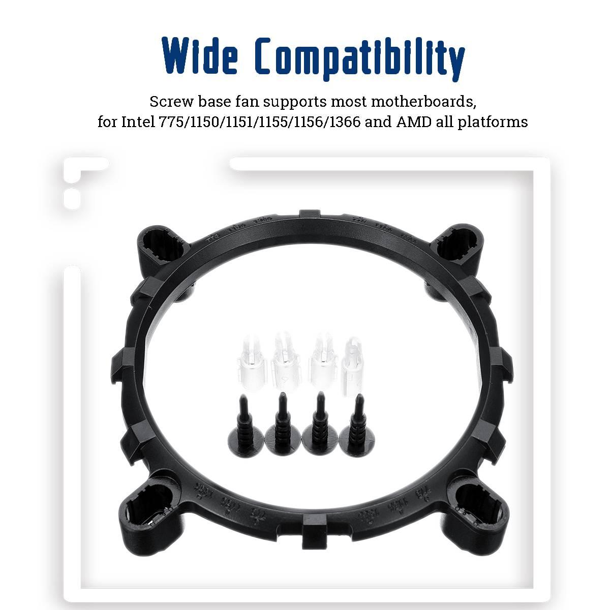 6 Heat Pipe CPU Heatsink for Intel 775/1150/1151/1155/1156/1366 and All AMD 7