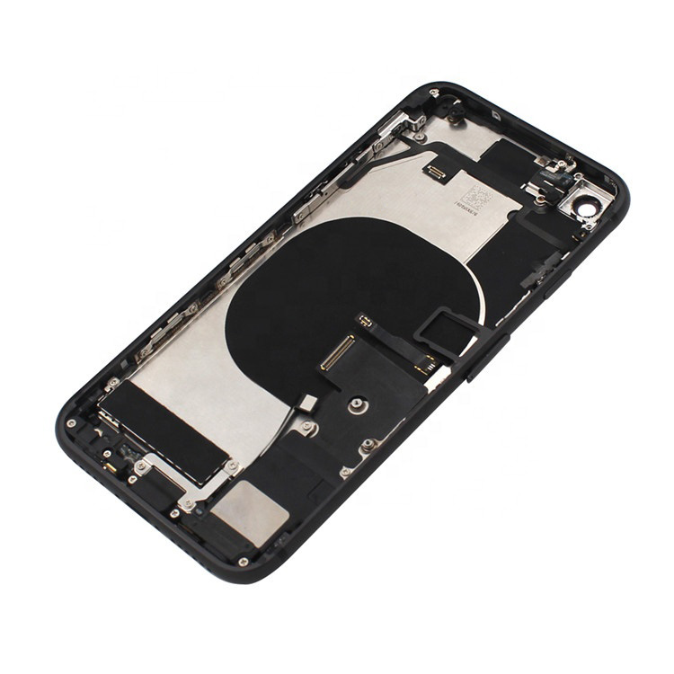 Kwainee High Quality For iphone 8 Plus 8P XR Battery Back Cover Middle Frame Chassis Full