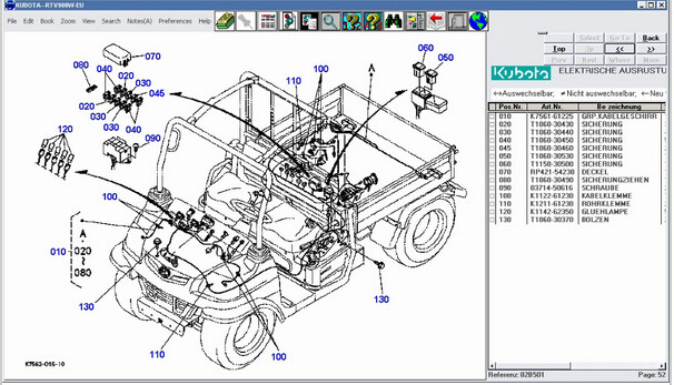 free shipping kubota parts catalogue 2010 on aliexpress com rh aliexpress com Kubota Alternator Wiring Diagram Kubota RTV 900 Wiring Diagram