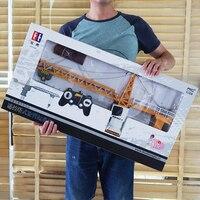 Tele управление пульт дистанционного управления лебедкой игрушки башенный кран большой автомобиль инженерно мальчик электрическая зарядка