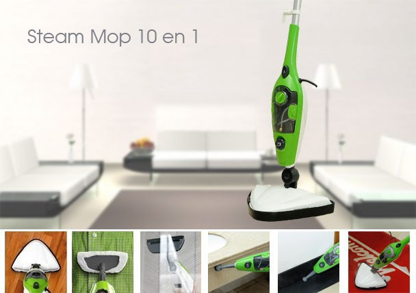 ФОТО Unique design 10 in 1 multiple function Steam Mop X10/Steam Cleaner/steam generator as seen on TV