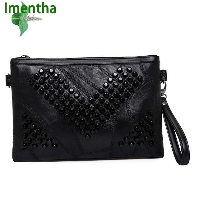 Aliexpress.com : Buy Big !! 2017 women clutch bag black envelope ...