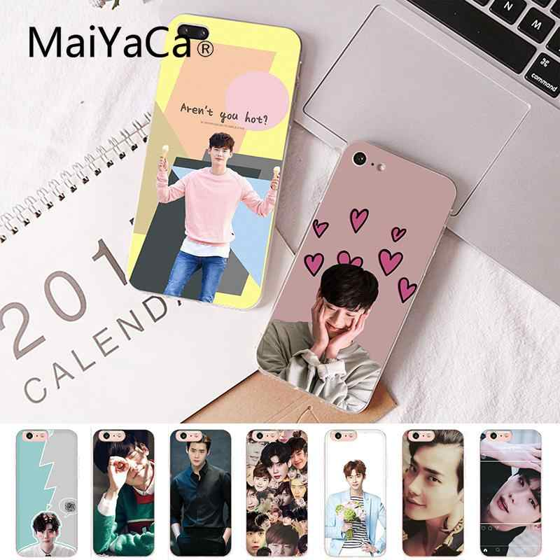 Maiyaca Idol Lee Jong Suk Custom Photo Soft Phone Case for iPhone 8 7 6 6S Plus X XS MAX 5 5S SE XR Cover