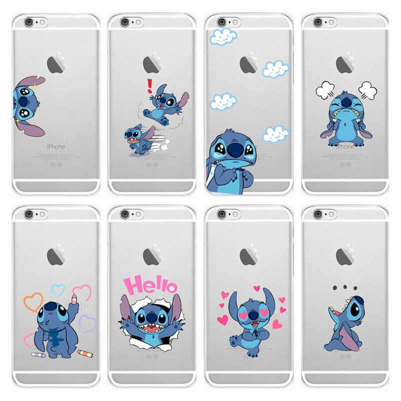 coque iphone 8 transparent stitch