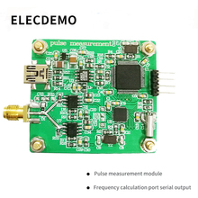 Impuls moduł czujnikowy cykl pracy rośnie i spada krawędzi pomiaru częstotliwości pomiar sygnału miernik częstotliwości port szeregowy