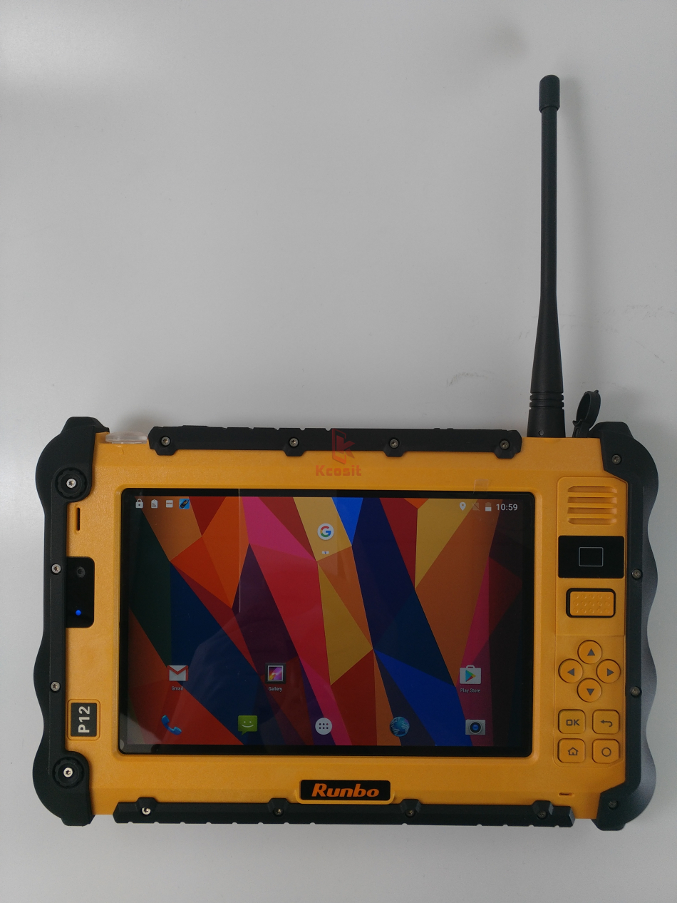 """Image 3 - China Rugged Industrial Waterproof Tablet Phone PC UHF VHF PTT Radio 7"""" 1920x1200 Dual Sim Android 5.1 Dustproof GNSS GPS Trucks-in Cellphones from Cellphones & Telecommunications"""
