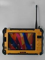 "vhf uhf PC טלפון Tablet Waterproof סין מוקשח תעשייתי UHF VHF PTT רדיו 7"" 1920x1200 Dual סים אנדרואיד 6.0 מכסים נגד אבק GNSS משאיות GPS (3)"