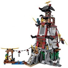LEPIN Ninjagoed The Lighthouse Siege Marvel Ninja Building Blocks Model Kits Toys Minifigures Compatible With Legoe