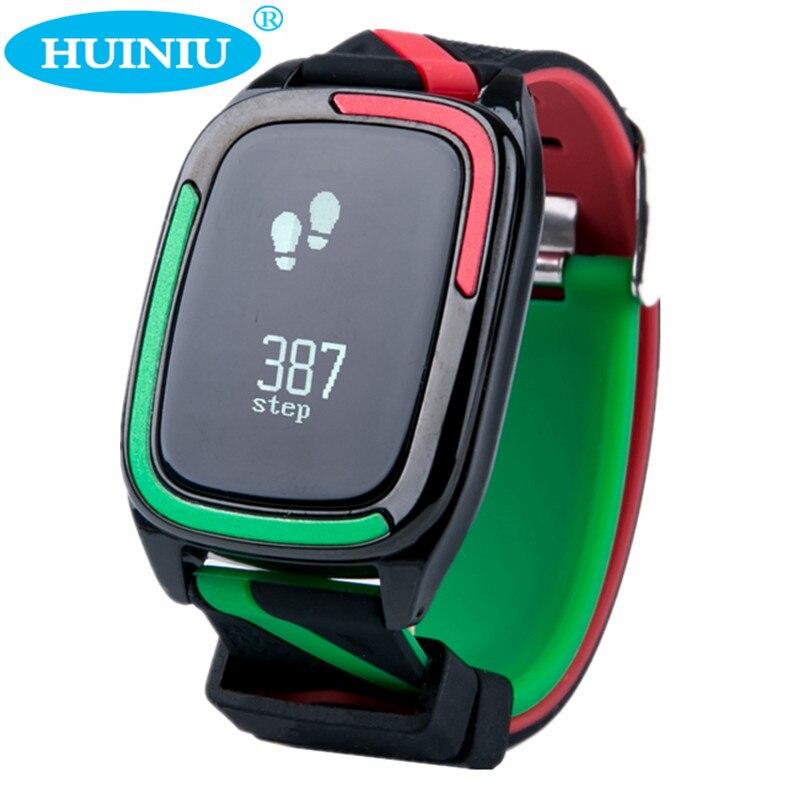 HUINIU DB05 Bluetooth Smart Wristband Sleep Tracker Bracelet Watch Heart Rate Monitor Activity Tracker Waterproof Smart