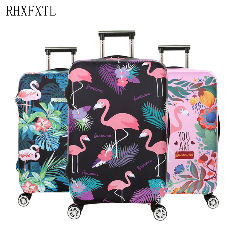 luggage case cover Travel accessories trolley suitcase Elasticity protective covers 18-32 inch suitcase dust proof case cover