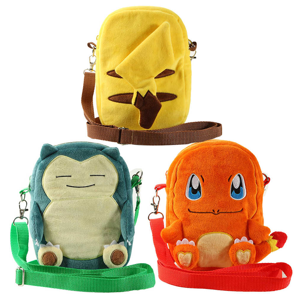 Pokemon Detective Pikachu Plush Small Bag Shoulder Bag Pocket