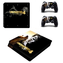 Uncharted 4 A Thief's End PS4 Slim Skin Sticker