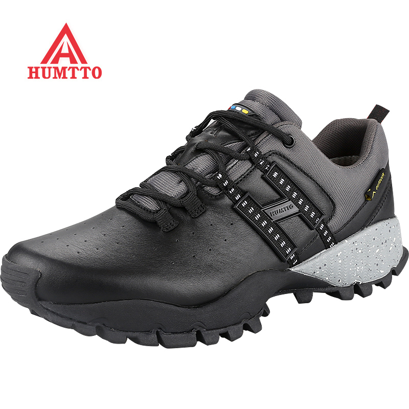 Limited Hiking Shoes Genuine Leather Outdoor for Men Winter Trekking Boots Climbing Mens Sneakers Zapatillas Hombre Male Walking winter outdoor travel walking sport shoes genuine leather women breathable hiking shoes ankle boots climbing sneakers big size