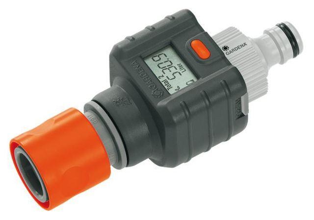 Awesome Gardena Digital Electronic Water Smart Flow Meter For Garden Hose Watering