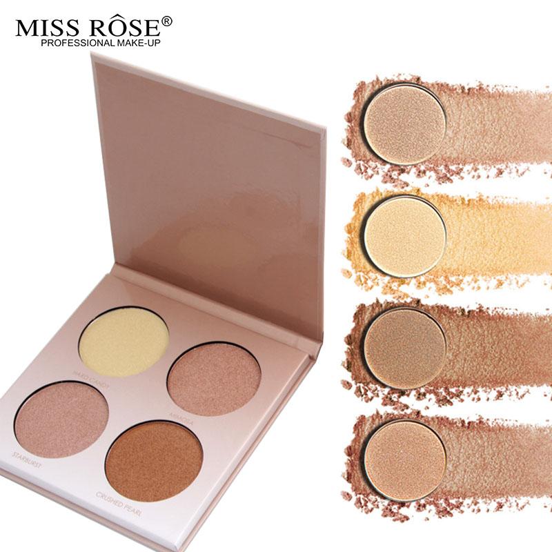MISS ROSE GLEAM GOLDEN Glow kit Chocolate illuminator Birthday Edition Face Bronzer&Highlighter Concealer Contour Makeup PaletteZ2
