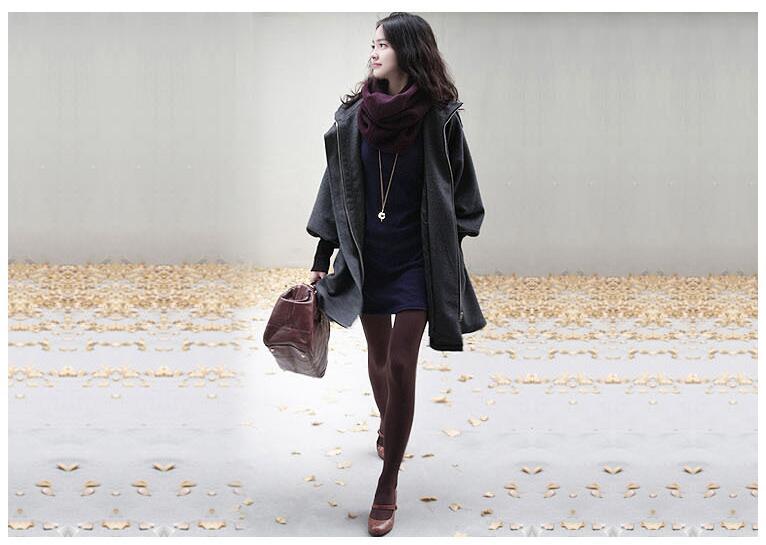 ~ Coupe Plus Manteau Xs Vent Cachemire Lâche Normal Outwear Casaco E24 Nouvelle Casual thicker Taille Longues Manches Pluscashmere À 6xl 2017 Femme Grande Capuche FSdUwdaYq
