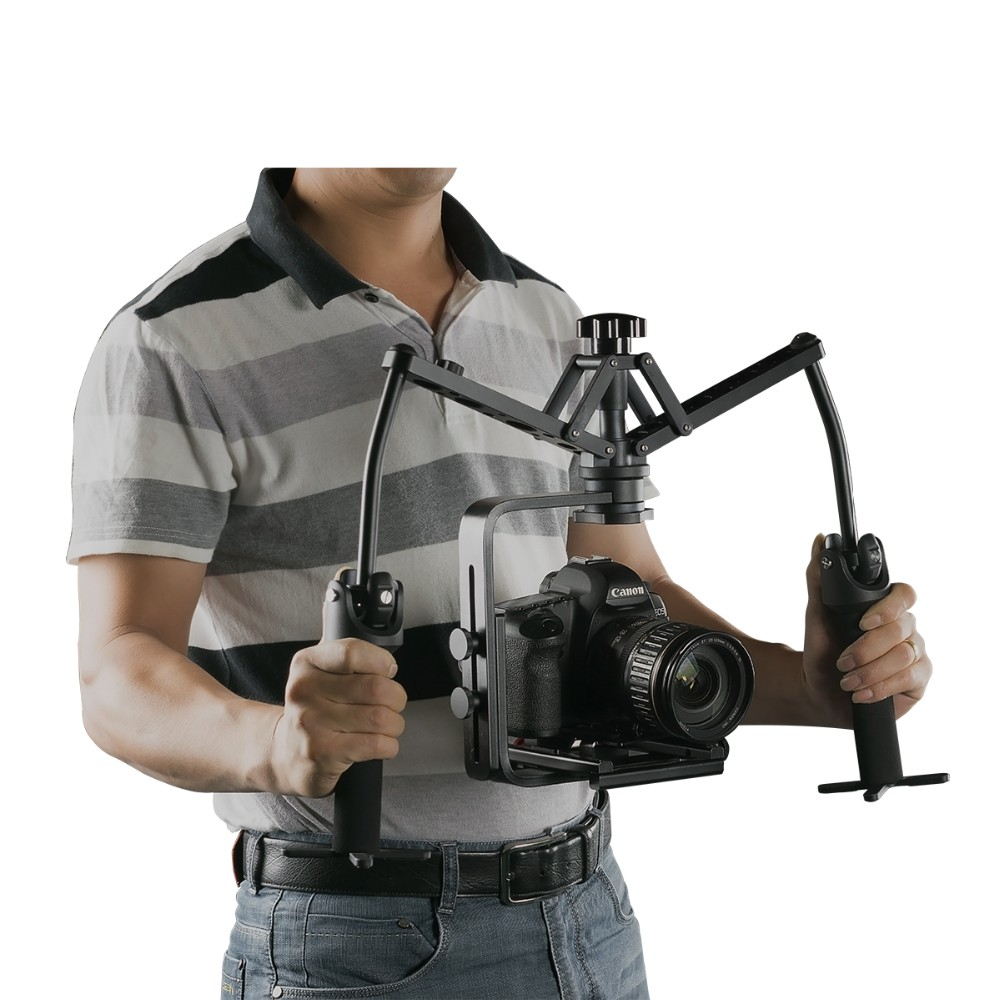 WD-Z Hand Grips Handheld Stabilizer Rig Video Gimbal Steadicam Steady Stand for canon nikon DSLR Camcorder DV 5D3 6D 7D Camera  handheld stabilizer dv shoulder bracket for canon 550d 7d 60dd 5dii nikon d3000 d90 d5100
