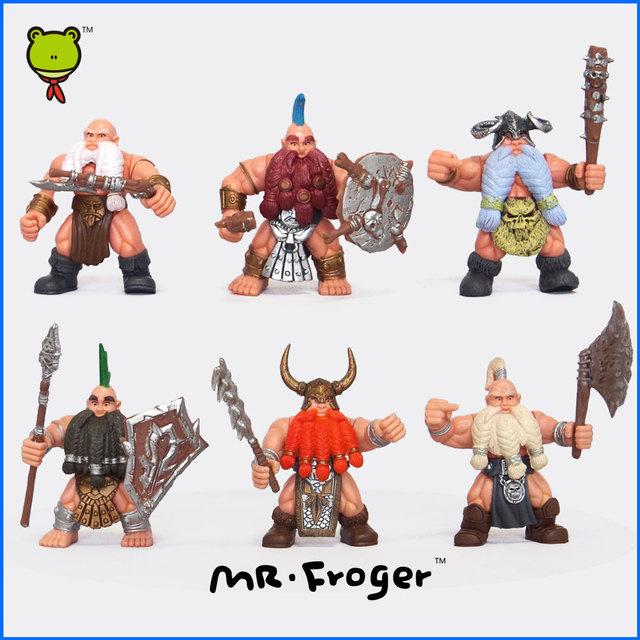 The Hobbit Action Figures Dwarf Soldier