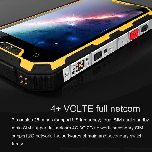 Conquest s8 smartphone waterproof 5.0″ ips android 7.0 mtk6753 octa core 3gb ram 32gb rom 4g 16mp 6000mah walkie talkie otg nfc