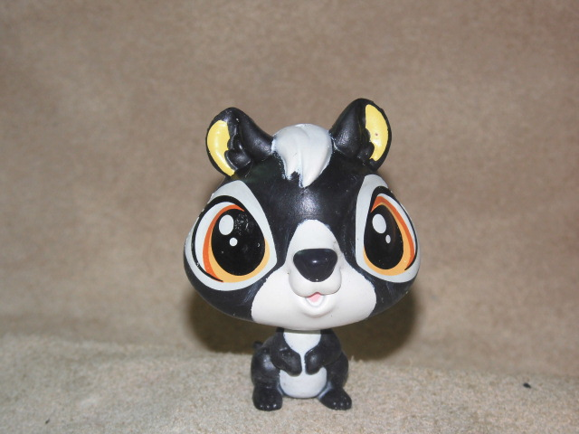 Toy Doll-Puppets Pets-Shop Action-Animals Children Original 5cm Playhouse Raccoon Foreign
